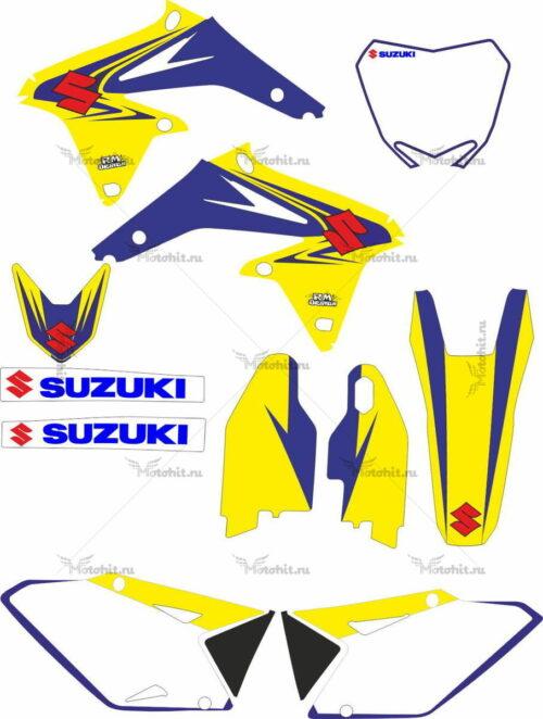Комплект наклеек SUZUKI RMZ-450 2008