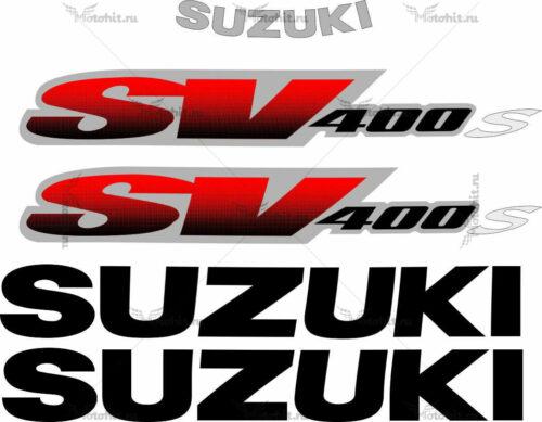 Комплект наклеек SUZUKI SV-400-S 1998