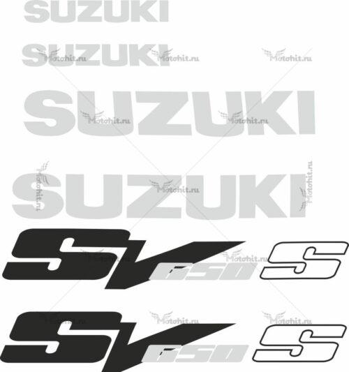 Комплект наклеек SUZUKI SV-650-S