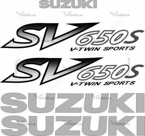 Комплект наклеек SUZUKI SV-650-S 2001