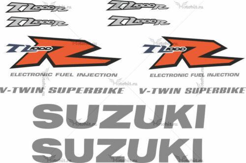 Комплект наклеек SUZUKI TL-1000-R 1999