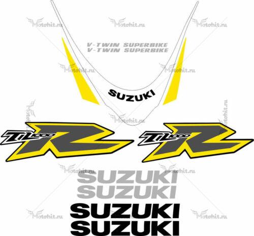 Комплект наклеек SUZUKI TL-1000-R 2000