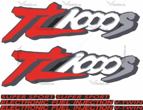Комплект наклеек SUZUKI TL-1000-S 1998