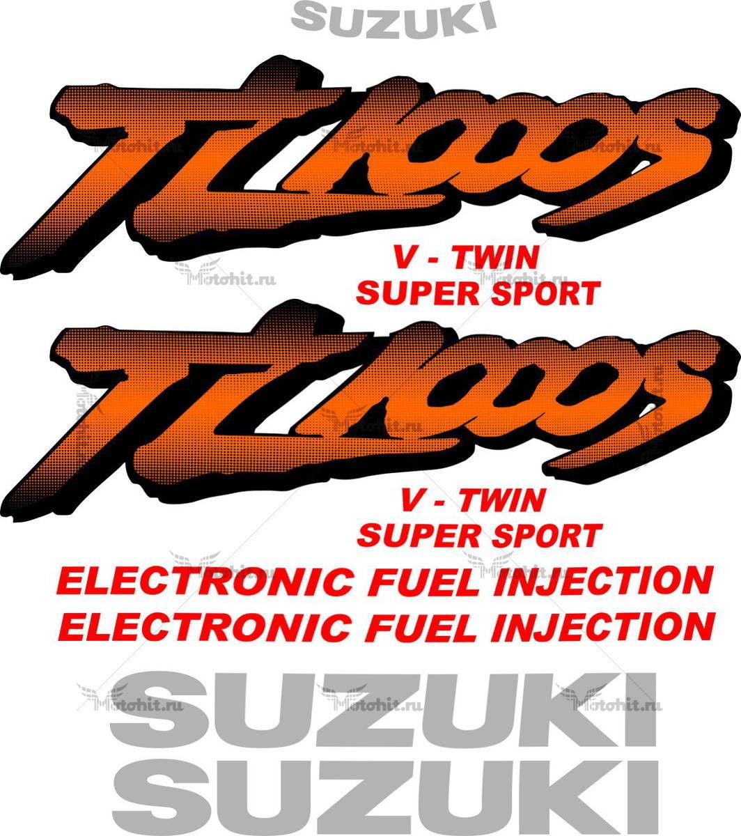 Комплект наклеек SUZUKI TL-1000-S 1999