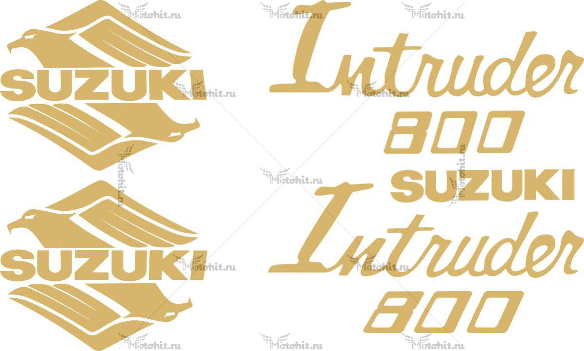 Комплект наклеек SUZUKI VS-800 1985-1996 INTRUDER