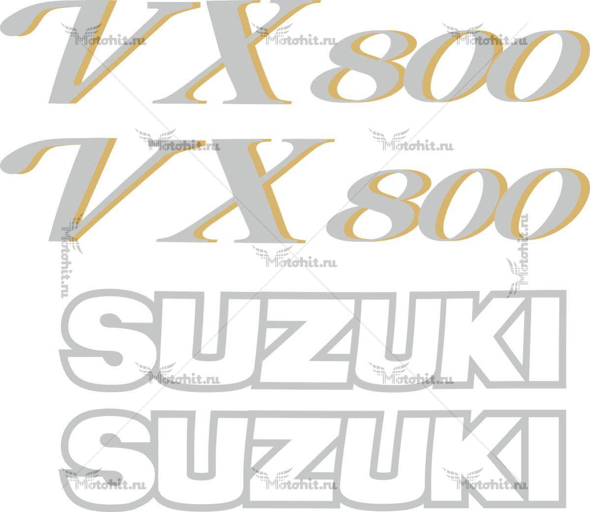 Комплект наклеек SUZUKI VX-800 1990-1996