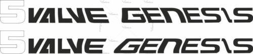 Наклейка Yamaha 5VALVE-GENESIS