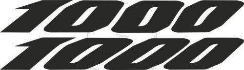 Наклейка Yamaha 1000