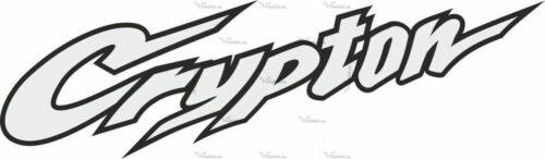 Наклейка Yamaha CRYPTON