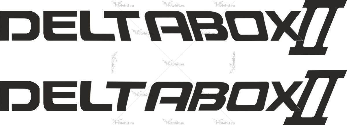 Наклейка Yamaha DELTABOX-II
