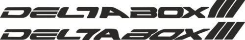 Наклейка Yamaha DELTABOX-III