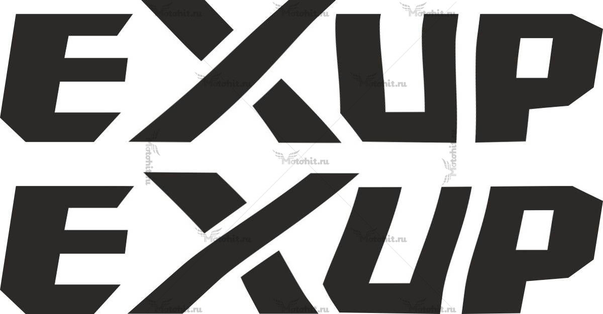 Наклейка Yamaha EXUP