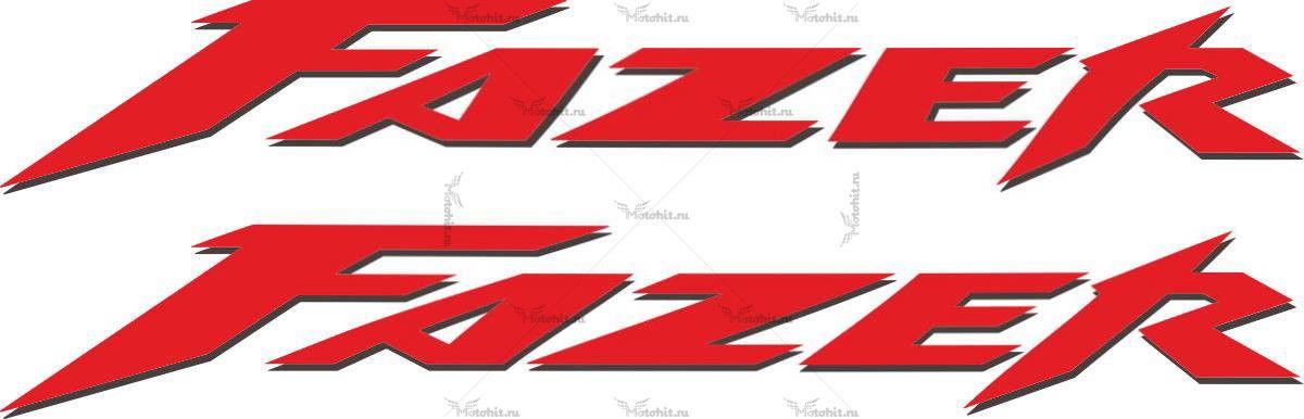 Наклейка Yamaha FAZER