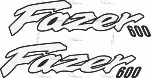 Наклейка Yamaha FAZER-600