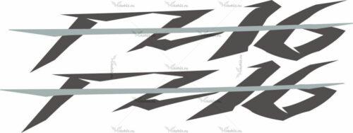 Наклейка Yamaha FZ-16