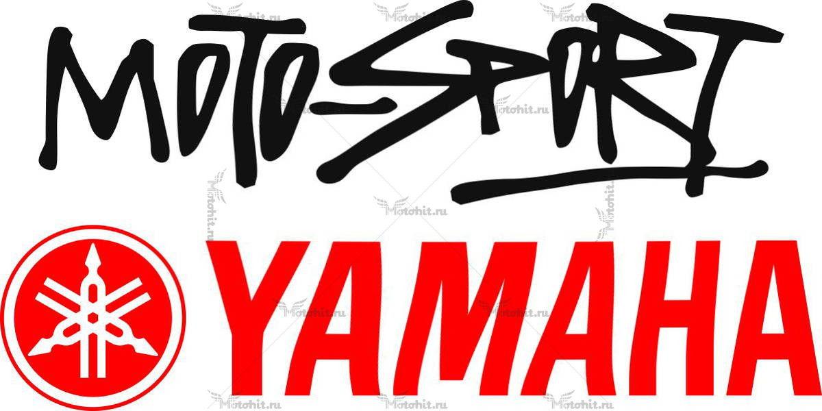 Наклейка Yamaha MOTOSPORT