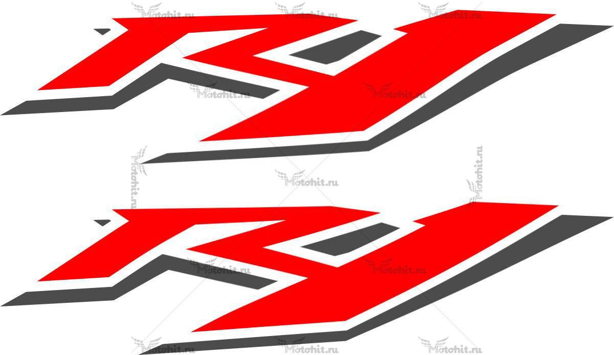 Наклейка Yamaha R1-3