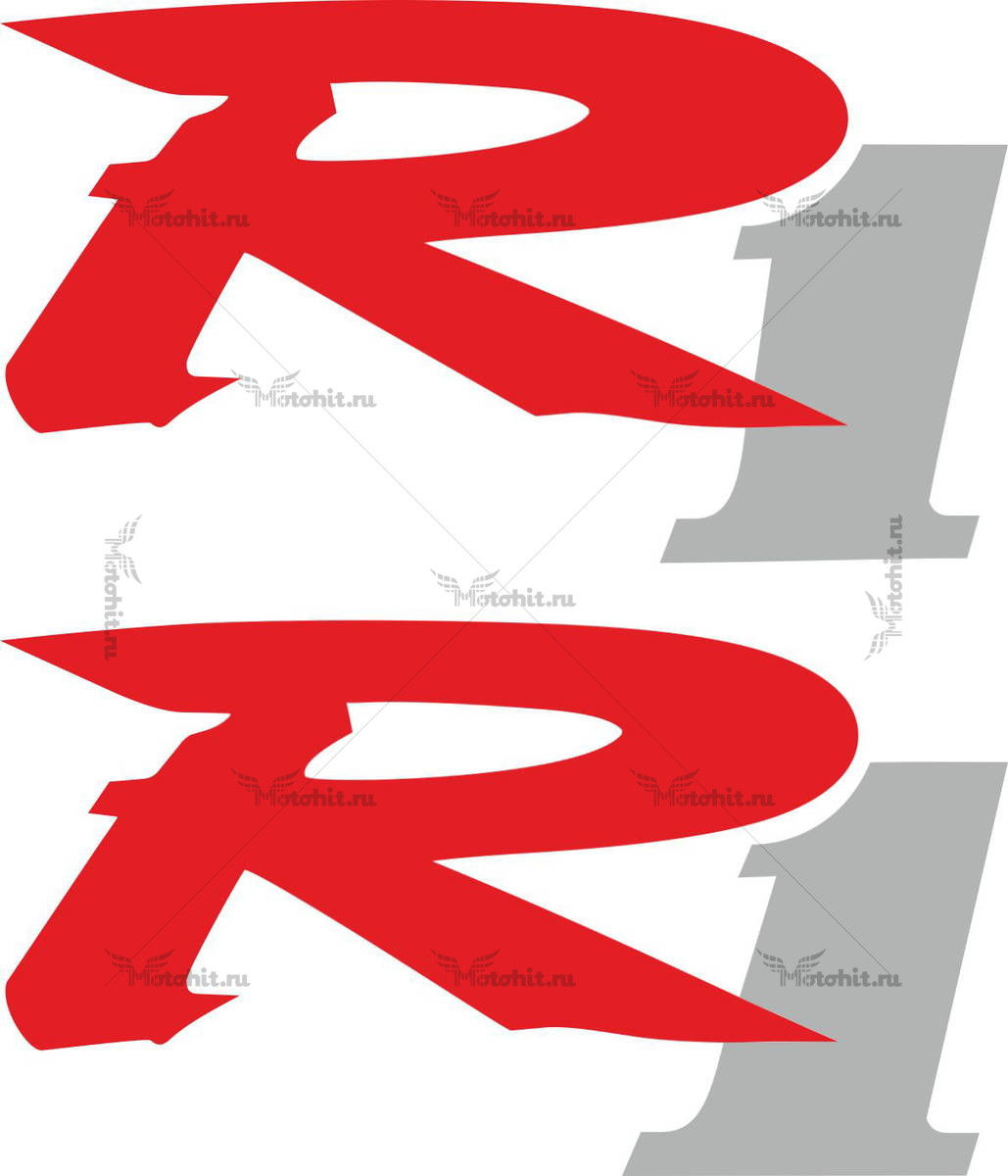 Наклейка Yamaha R1-4