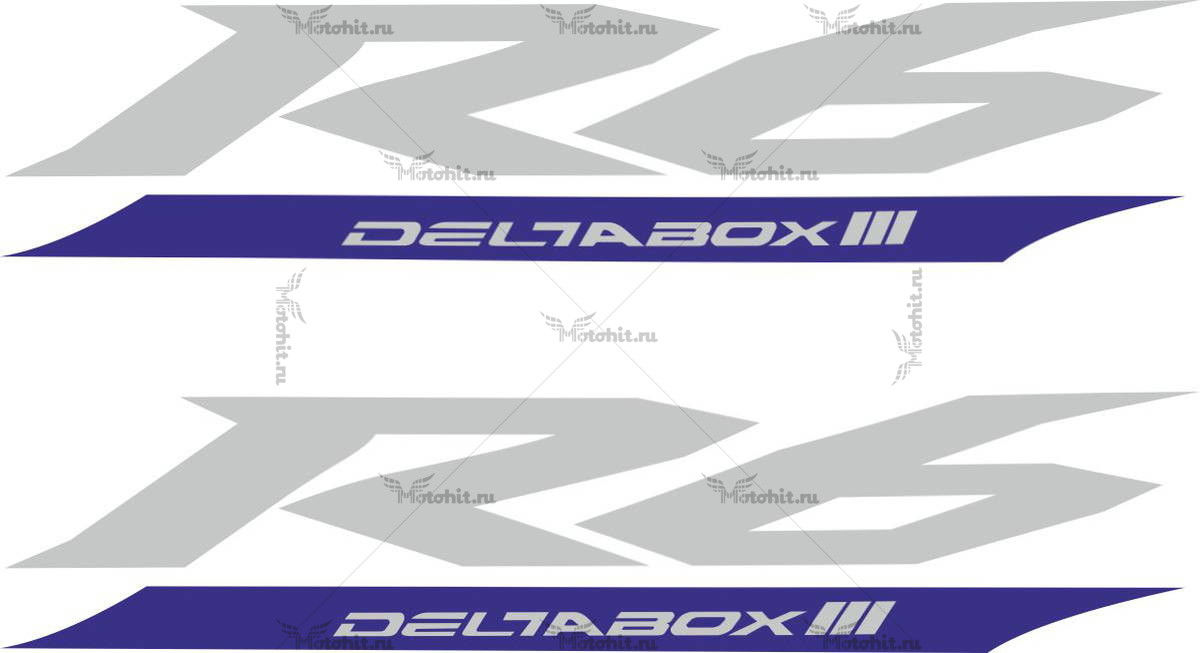 Наклейка Yamaha R6-DELTABOX