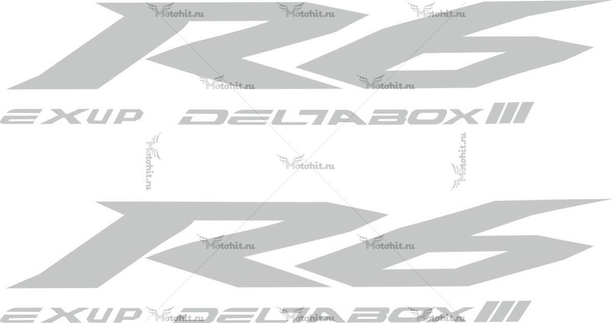 Наклейка Yamaha R6-EXUP-DELTABOX