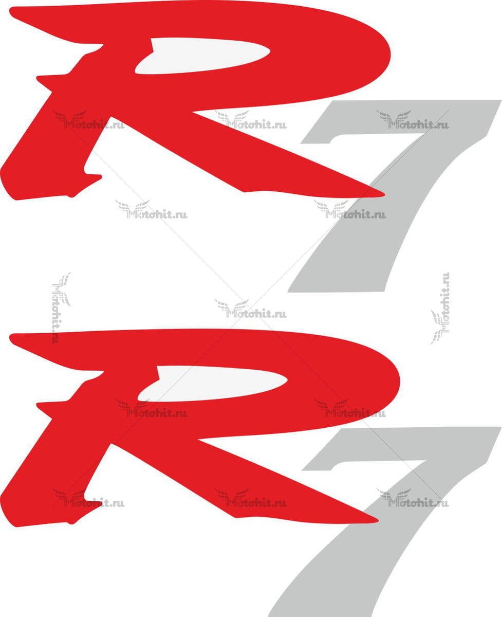 Наклейка Yamaha R7