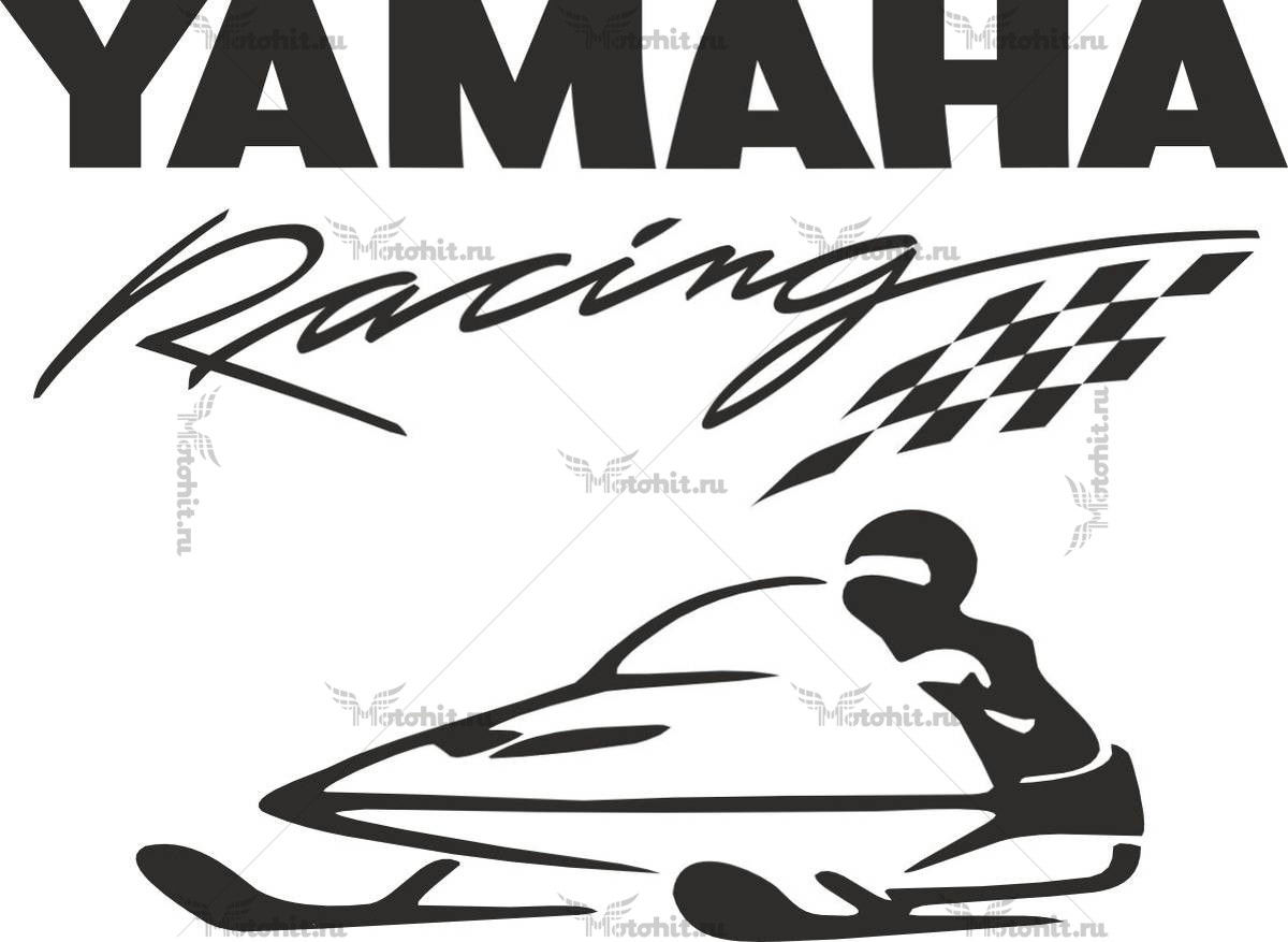 Наклейка Yamaha RACING