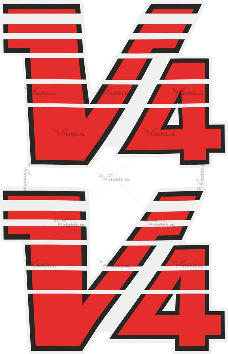 Наклейка Yamaha V4