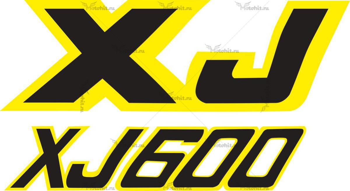 Наклейка Yamaha XJ-600