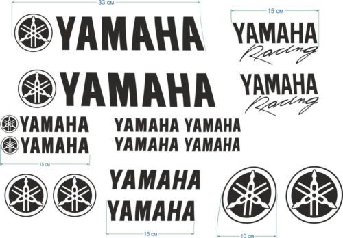 Комплект наклеек Yamaha 16STICKER-PROMO
