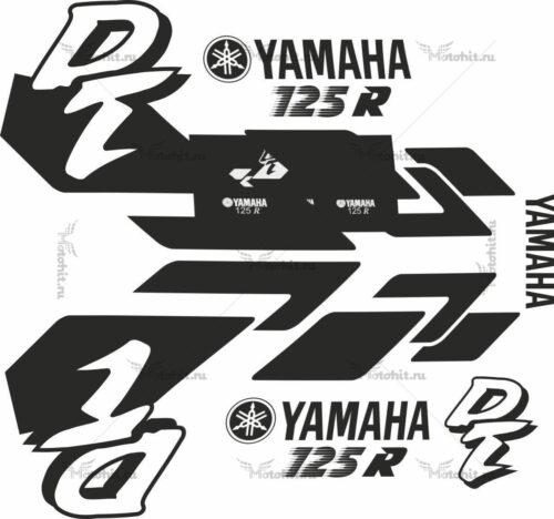 Комплект наклеек Yamaha DT-125-R 1998