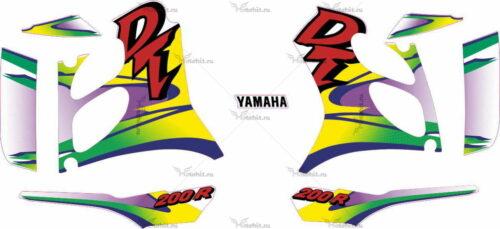Комплект наклеек Yamaha DT-200-R 1999