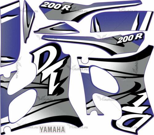 Комплект наклеек Yamaha DT-200-R 2000
