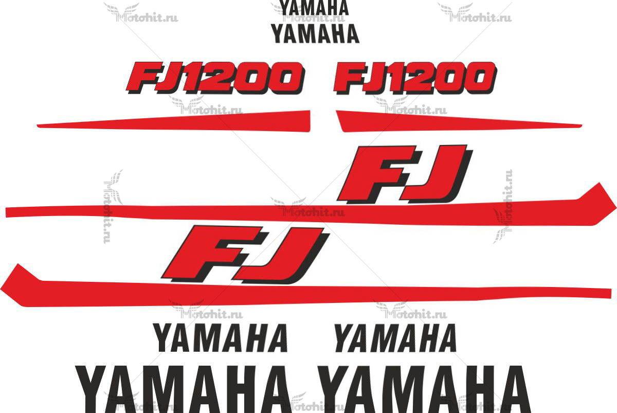 Комплект наклеек Yamaha FJ-1200 1986+