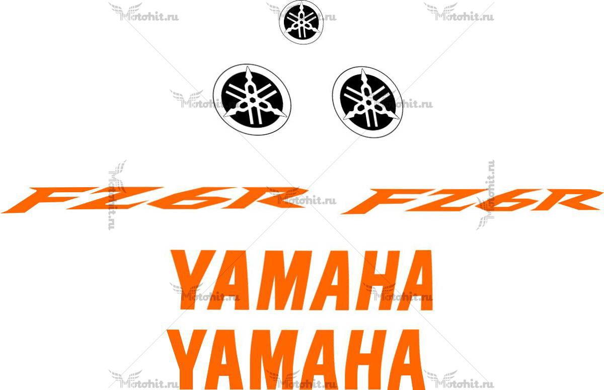 Комплект наклеек Yamaha FZ-6R 2009-2015 TXT