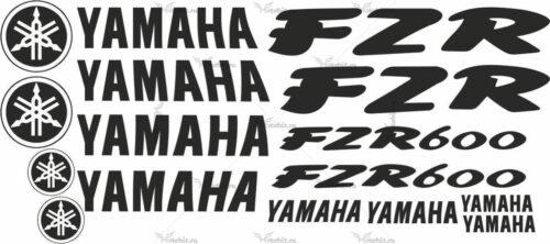 Комплект наклеек Yamaha FZR-600
