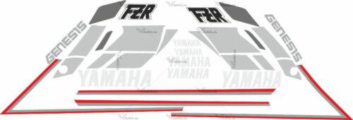 Комплект наклеек Yamaha FZR-600 1989-1999
