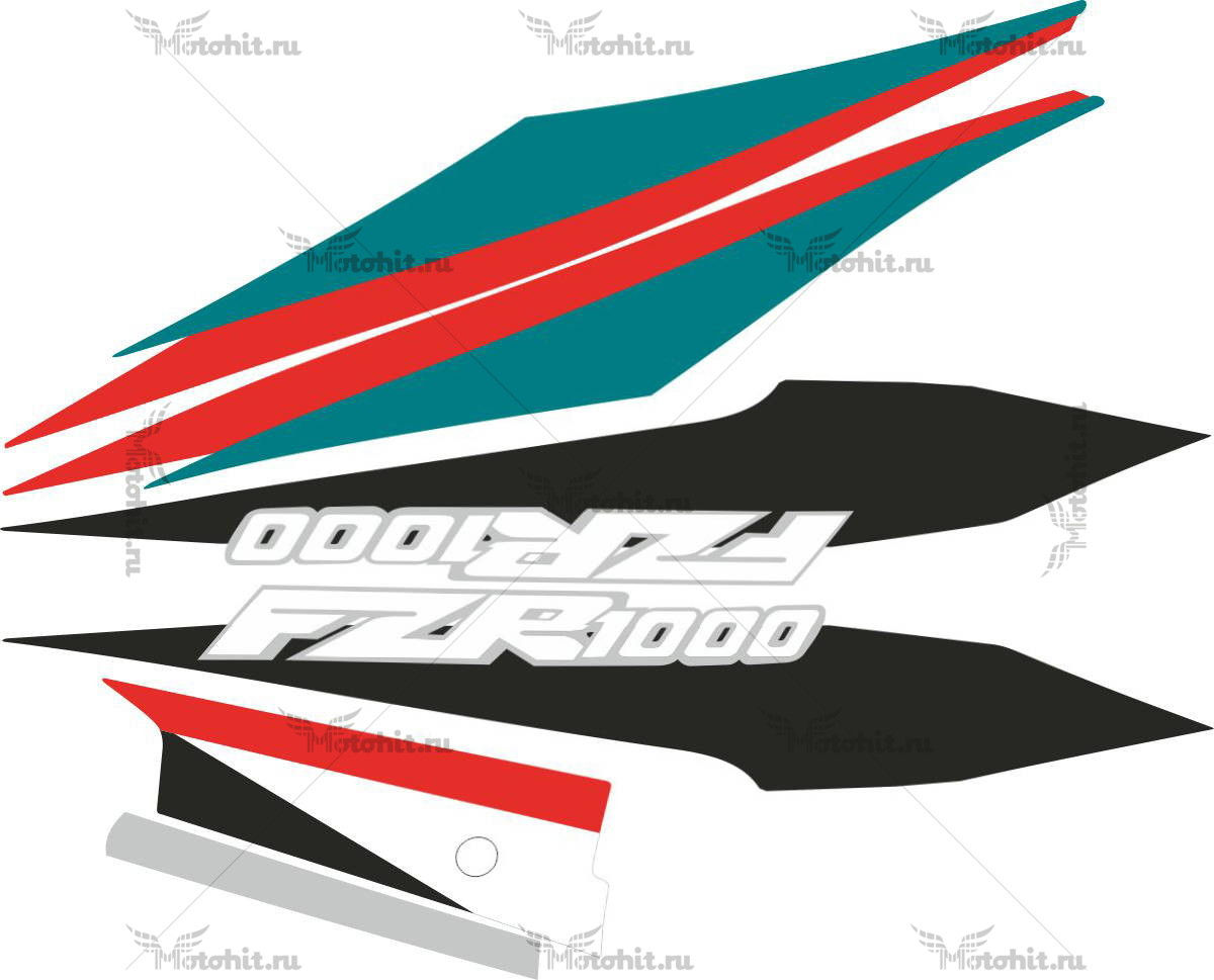 Комплект наклеек Yamaha FZR-1000 1995
