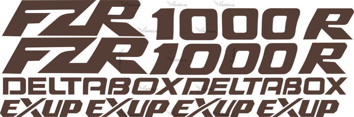 Комплект наклеек Yamaha FZR-1000-R