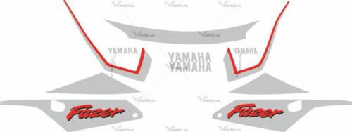Комплект наклеек Yamaha FZS-600 2000 FAZER