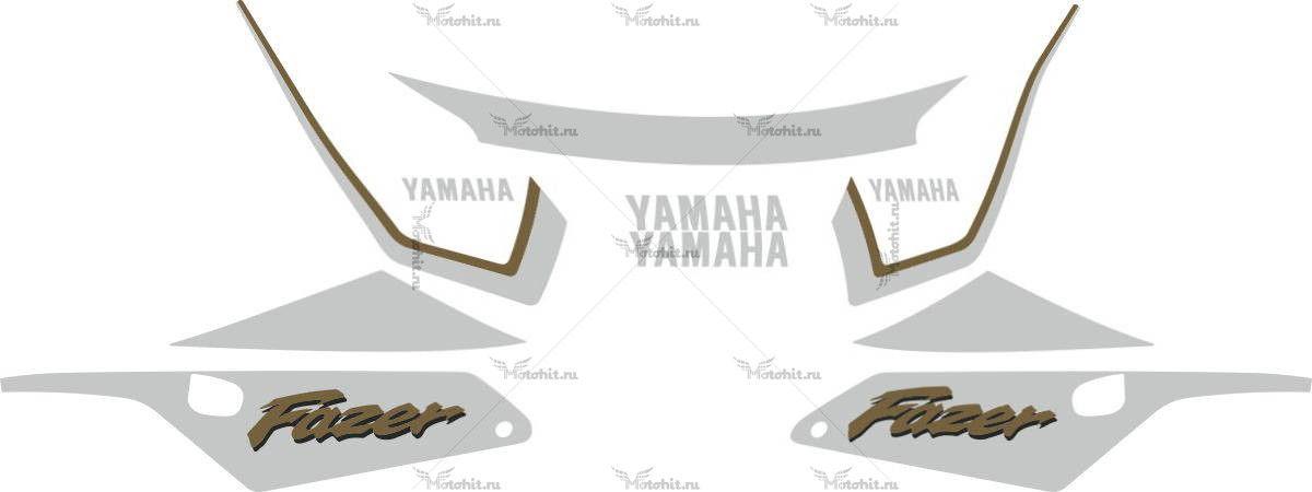 Комплект наклеек Yamaha FZS-600 2000 FAZER-GOLD