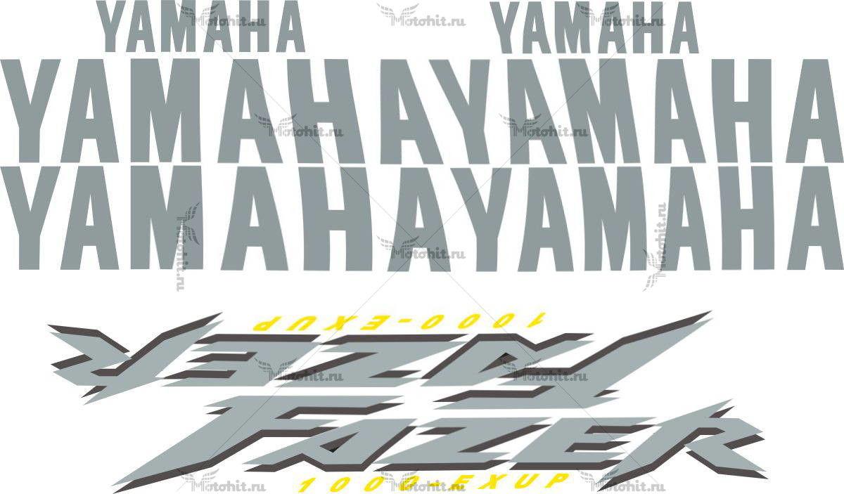 Комплект наклеек Yamaha FZS-1000 2001-2005 FAZER