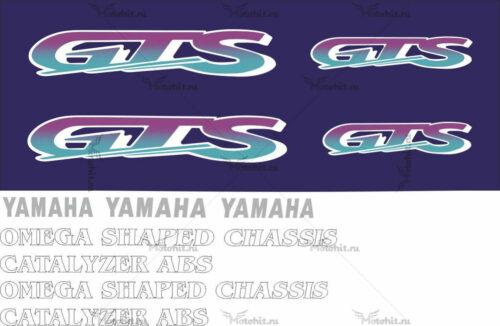 Комплект наклеек Yamaha GTS-1000 1992-1998