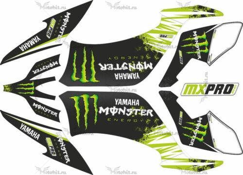 Комплект наклеек Yamaha YFM-250-R MONSTER