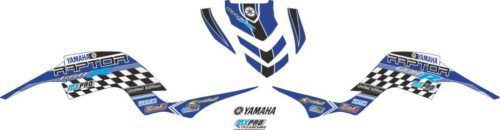 Комплект наклеек Yamaha RAPTOR-660 BLUE