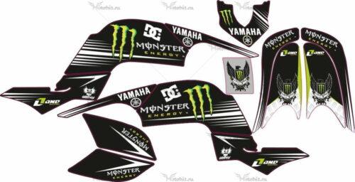 Комплект наклеек Yamaha RAPTOR-660 LIGHT