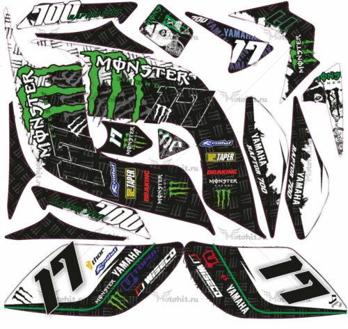 Комплект наклеек Yamaha RAPTOR-700