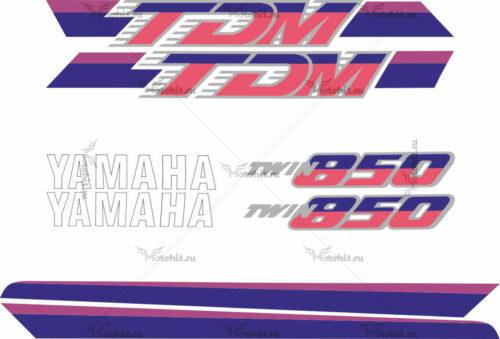 Комплект наклеек Yamaha TDM-850 1991-1995