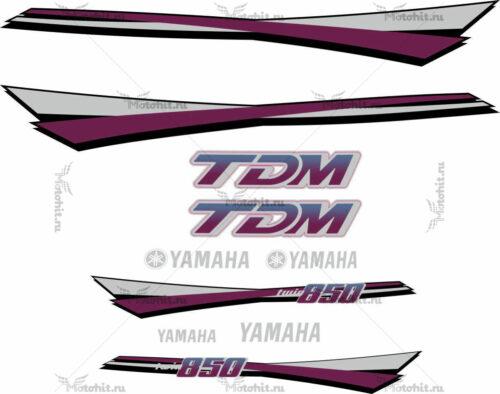 Комплект наклеек Yamaha TDM-850 1994 VIOLET