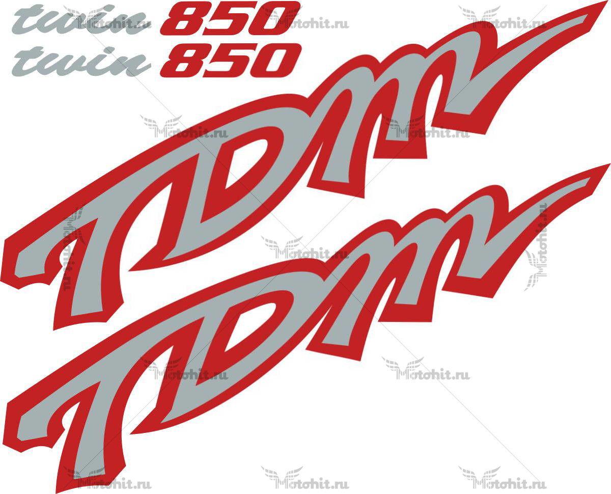 Комплект наклеек Yamaha TDM-850 2000-2001 1