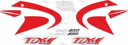 Комплект наклеек Yamaha TDM-850 2000-2001 CLASSIC-RED